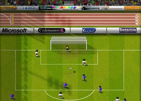Sensible World of Soccer on XBox 360 live arcade